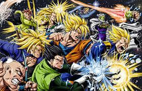 Dragon Ball Z VS Marvel Superheroes(parody)