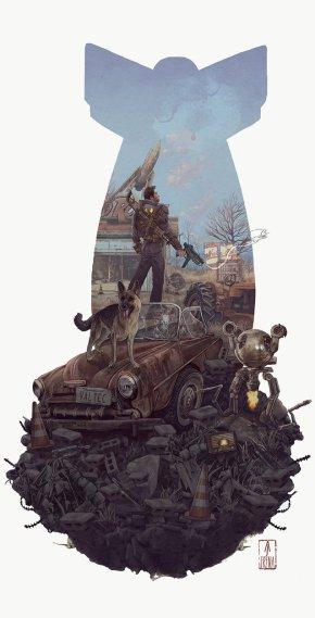 Fallout! |Art Theme Of TheWeek